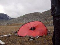 Camp ved Blåmannsisen