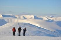 Fjell og Bre på Svalbard